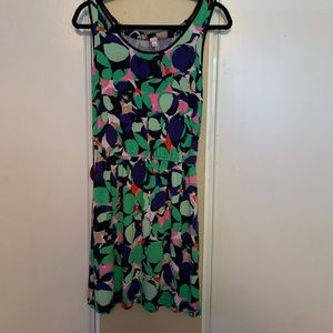 Gap Floral print sleeveless dress